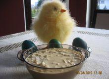 Sos wielkanocny z jajek i chrzanu