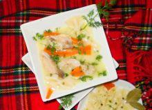 Zupa rybna z karpia :
