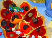 Galaretki w pomarańczach