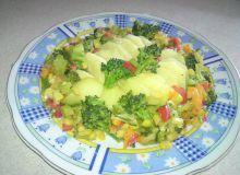Wegetariańskie danie obiadowe