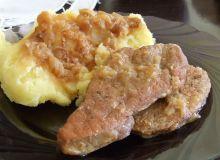 Delikatne mięso w sosie