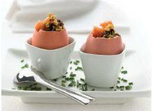 Jajka z tatarem z Hiszpańskich Oliwek