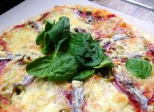 Pizza z anchois