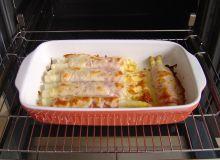 Tak przygotowane sparagi zapiekać - aż się ser stopi i zbrązowieje.