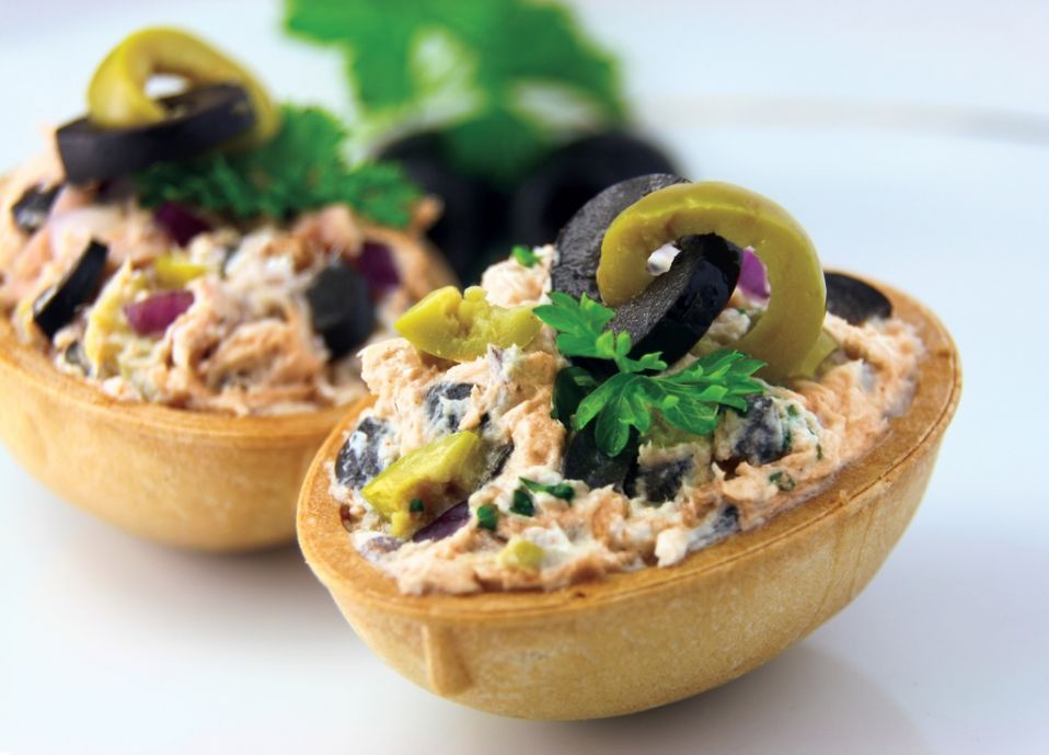 Przekąska z tuńczykiem  Przepis na przekąska z tuńczykiem  MojeGotowanie pl -> Kuchnia Francuska Kremowy Mus Z Tunczyka