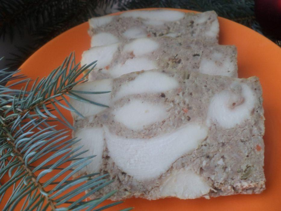 Keks mięsny wieprzowo- drobiowy