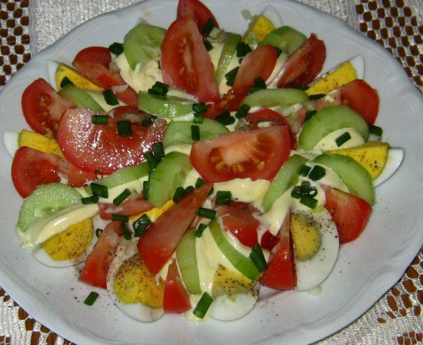 Salatka Na Kolacje Przepis Na Salatka Na Kolacje Mojegotowanie Pl