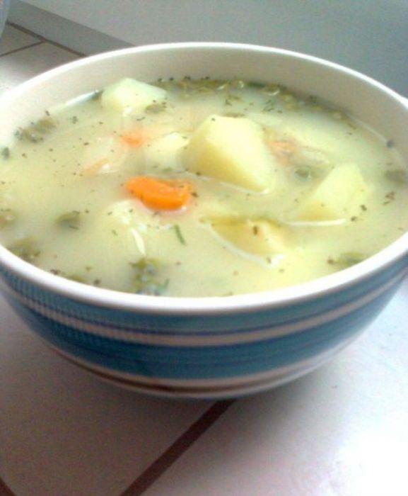 Zupa Z Cukinii I Zielonego Groszku Przepis Na Zupa Z Cukinii I