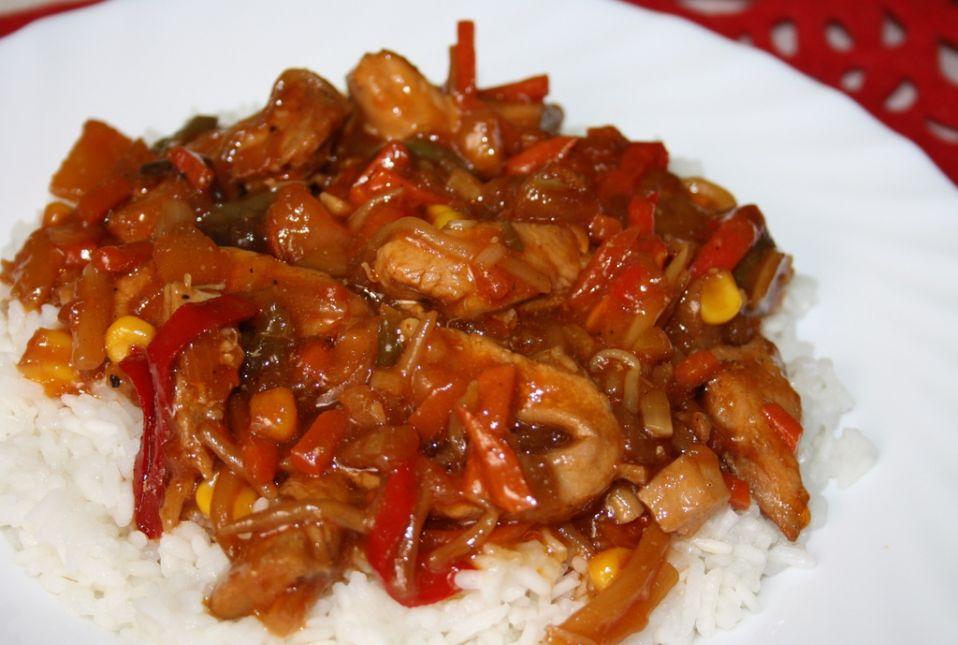 Piers Z Kurczaka Z Warzywami Po Chinsku Przepis Na Piers Z