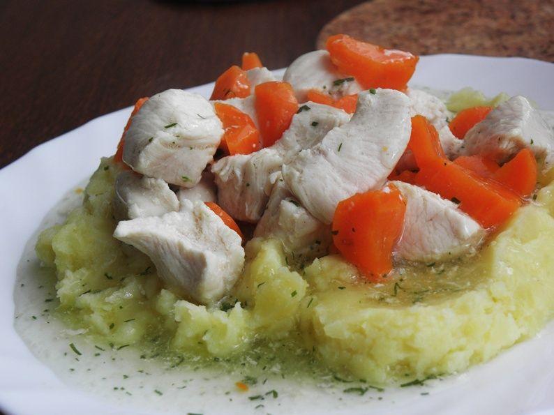 Dietetyczna Potrawka Z Kurczaka Przepis Na Dietetyczna Potrawka Z