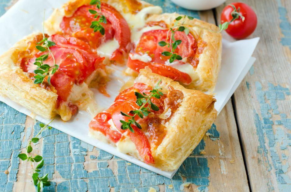 Ciasto Francuskie Z Pomidorami Przepis Na Ciasto Francuskie Z
