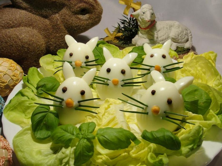 Zajaczki Wielkanocne Z Jajka Przepis Na Zajaczki Wielkanocne Z