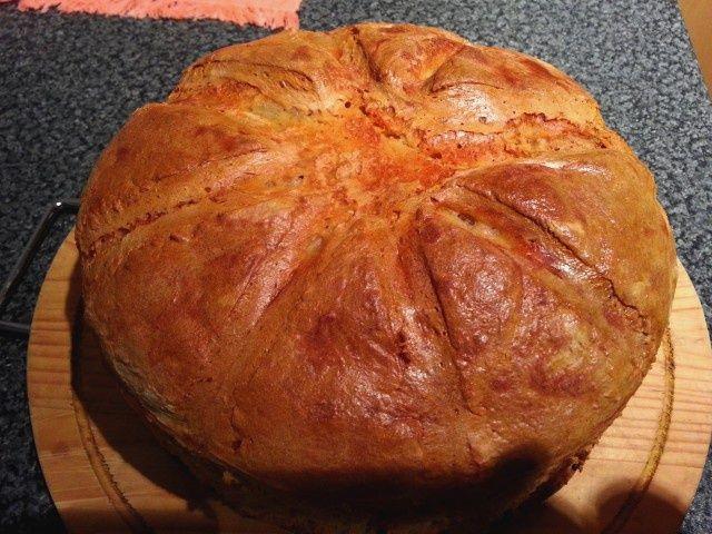 Chleb Domowy na zakwasie naturalnym