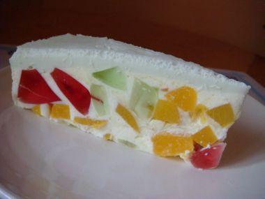 Tort z galaretek