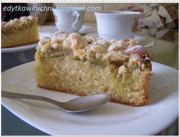 Ciasto Z Rabarbarem I Kruszonka Przepis Na Ciasto Z Rabarbarem I