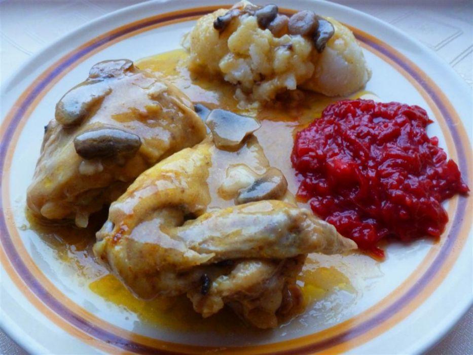 Seria Tanie Obiady Kurczak W Sosie Z Pieczarkami Wg Mojej Mamy