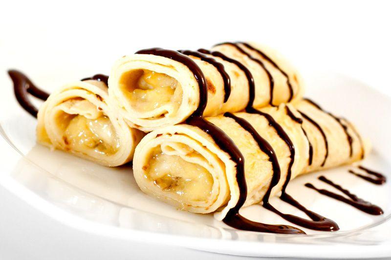Naleśniki Z Bananem Przepis Na Naleśniki Z Bananem