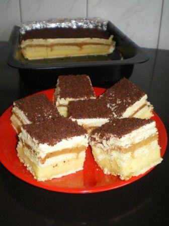 Ciasto 3 Bit Przepis Na Ciasto 3 Bit Mojegotowanie Pl