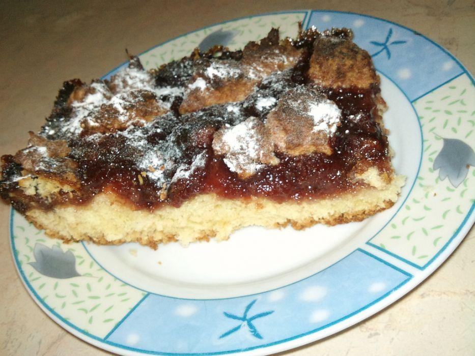 ciasto z dzemem śliwkowym