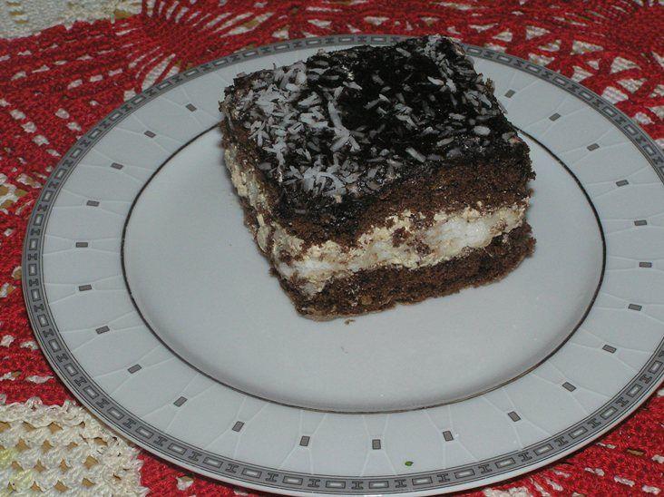 Ciasto Czekoladowe Z Wkladka Kokosowa Przepis Na Ciasto