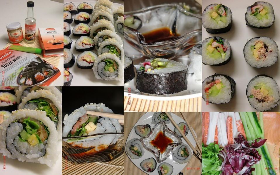 how to make california maki sushi