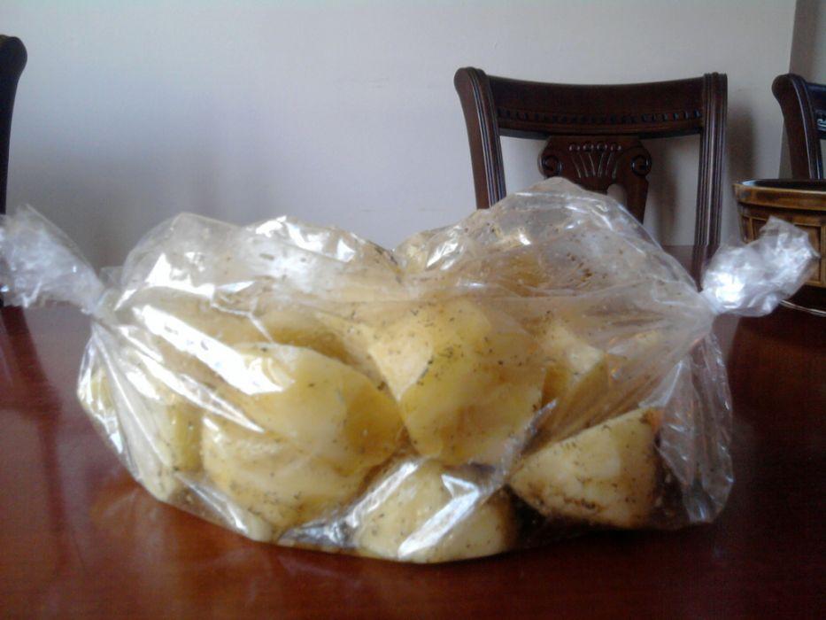 Pieczone w rękawie ziemniaki