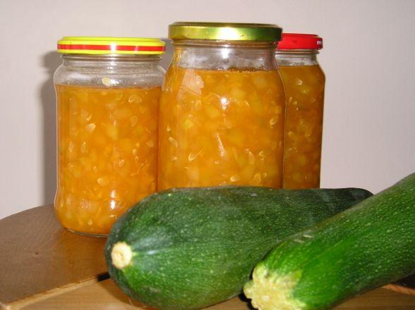 Konfitura z cukinii z pomarańczową nutą