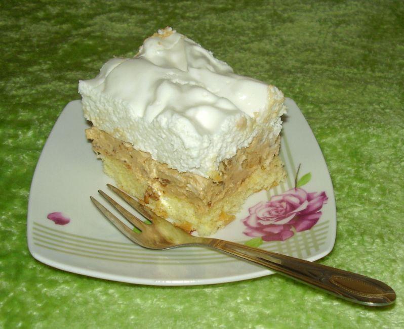 Ciasto słonecznikowe z masą krówkową