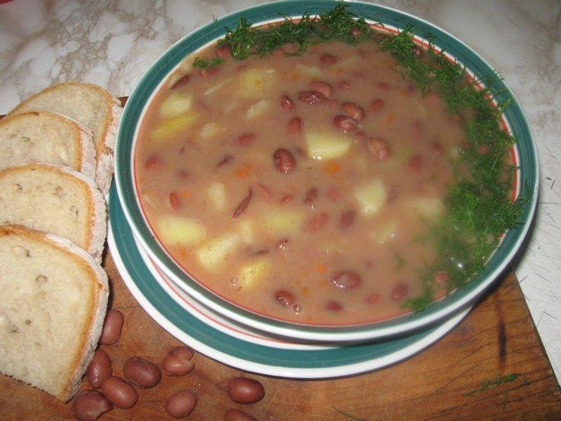 Znalezione obrazy dla zapytania zupa fasolowa