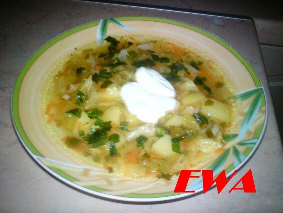Zupa z włoskiej kapusty