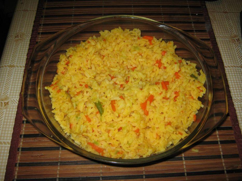 Kolorowy  ryż