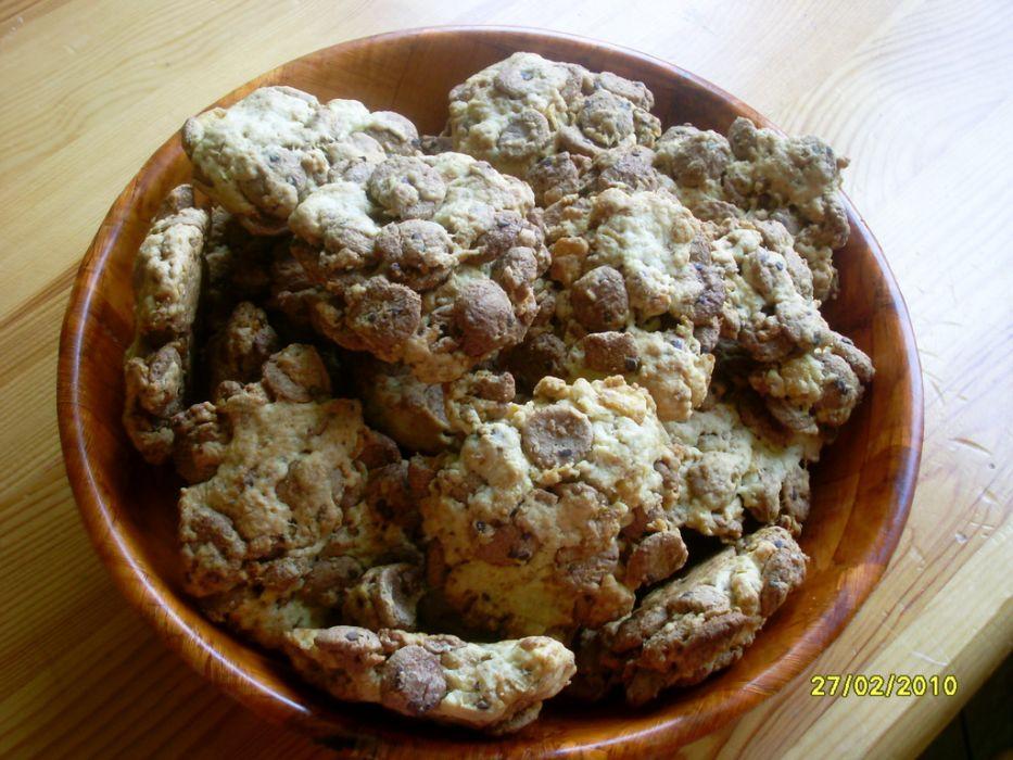 Ciasteczka z płatków kukurydzianych