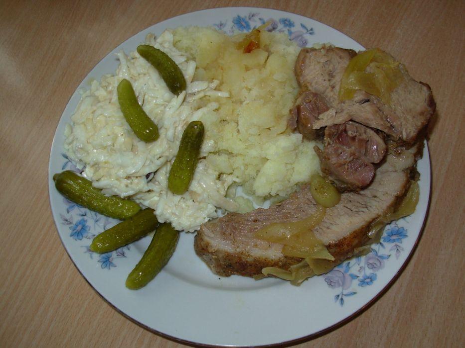 Szynka pieczona - obiadowa