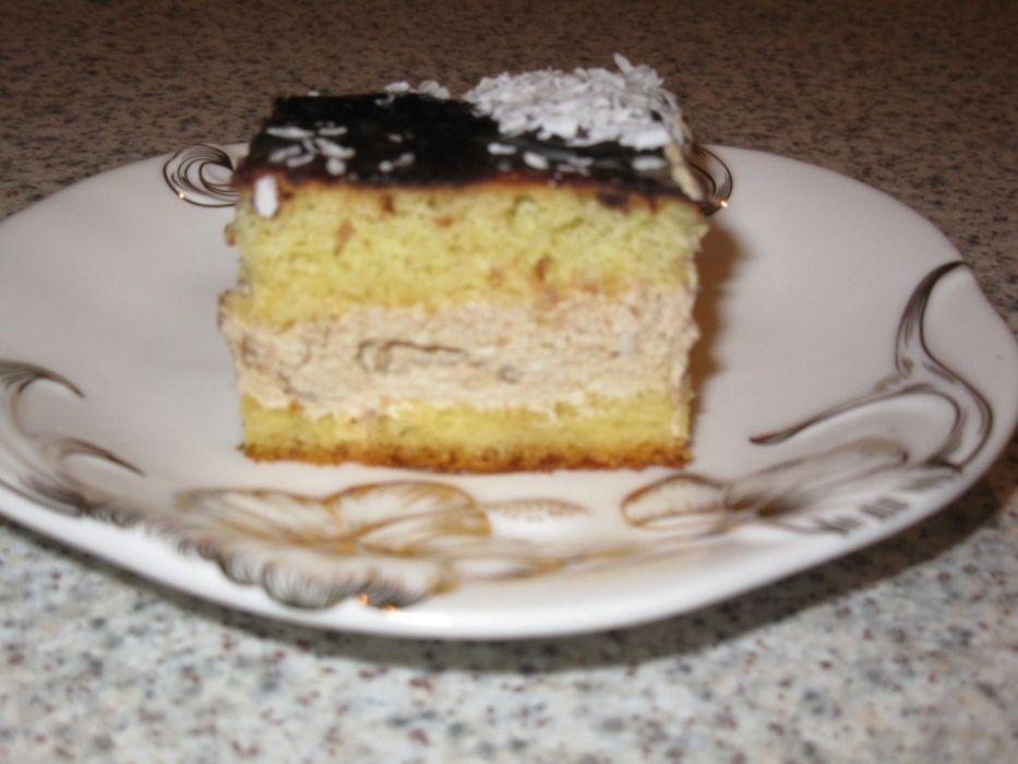 Ciasto Cappucino Przepis Na Ciasto Cappucino Mojegotowanie Pl