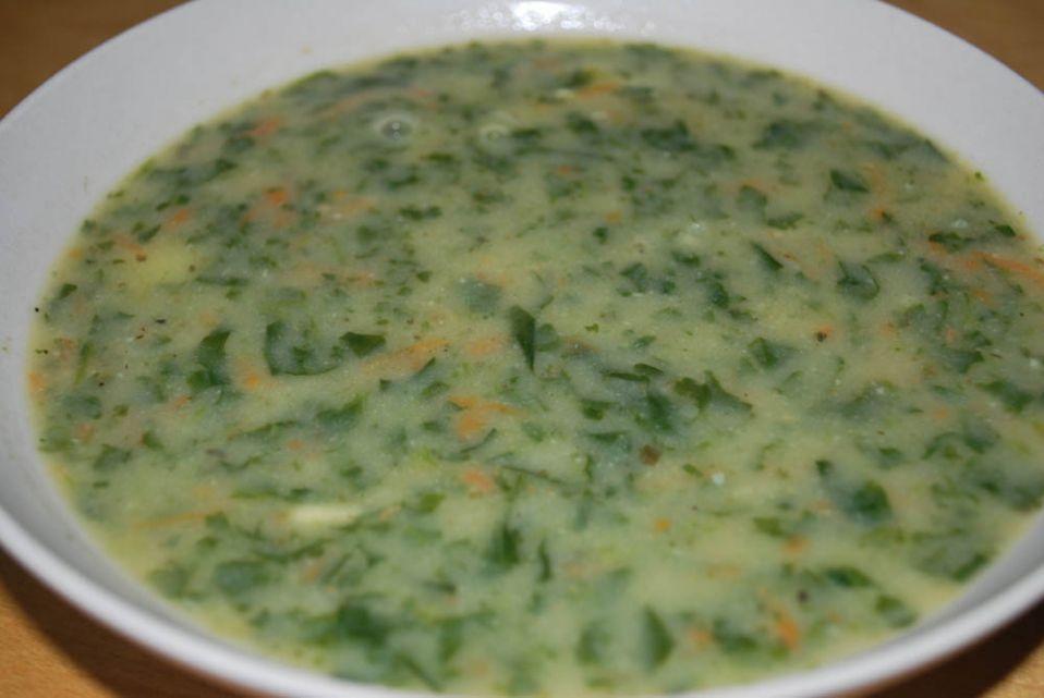 Zupa Szpinakowa Przepis Na Zupa Szpinakowa Mojegotowanie Pl
