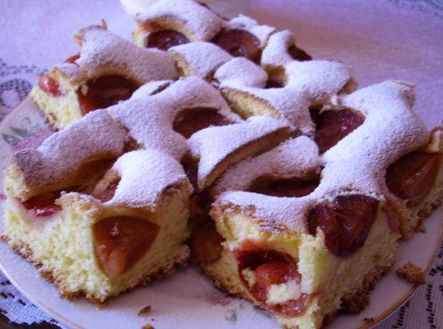 Ciasto Z Sliwkami