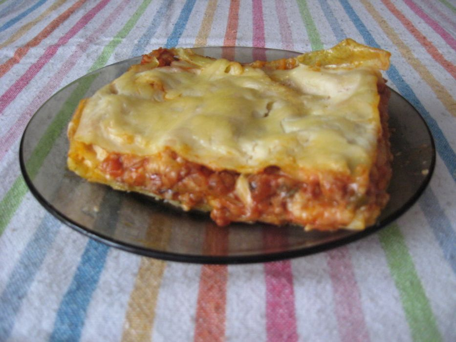 Lasagne Z Sosem Beszamelowym