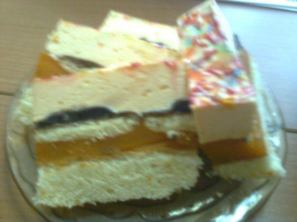 Ciasto z delicjami