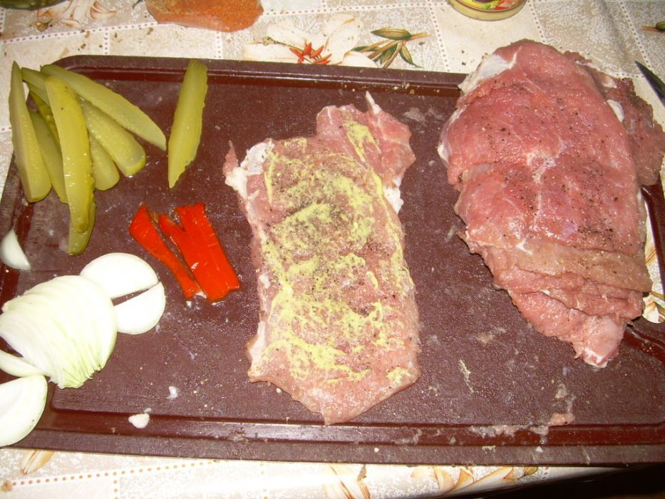 Mięsne zawijasy