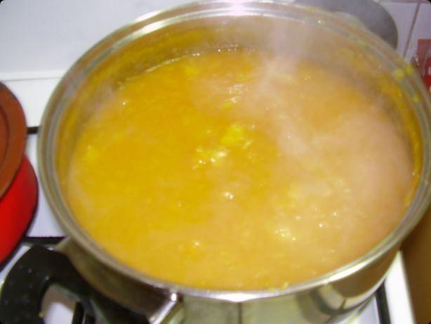 Dżem z dyni z pomarańczą i cytryną.