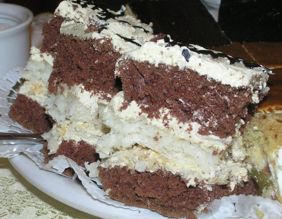 Ciasto Kakaowo Kokosowe Przepis Na Ciasto Kakaowo Kokosowe