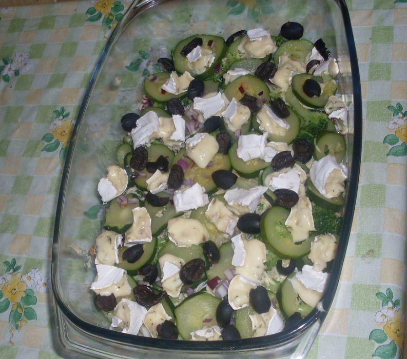 Zapiekanka z cukinią i brokułami