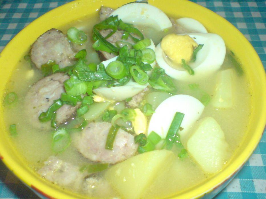 Zupa Jajeczna Przepis Na Zupa Jajeczna Mojegotowaniepl