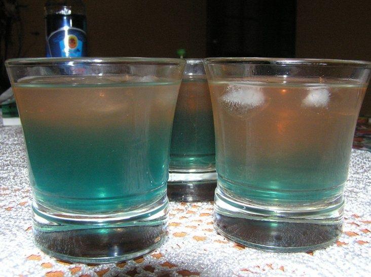Kolorowy drink