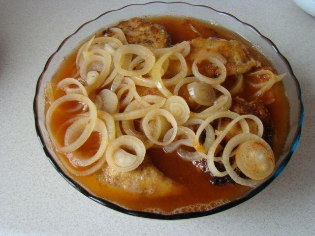 Filet z kurczaka w zalewie octowej
