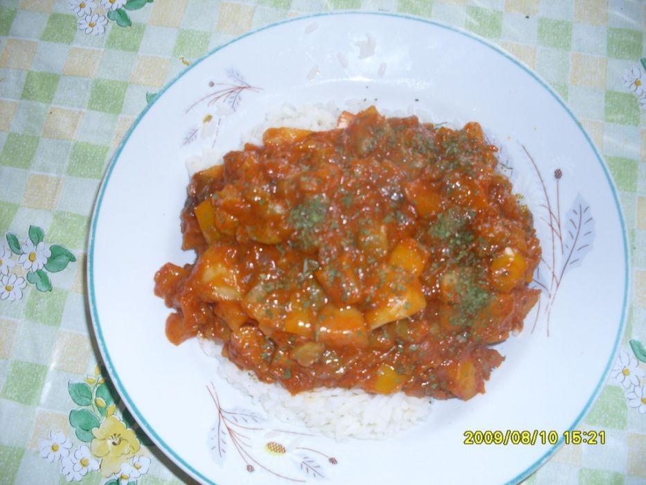Gulasz wegetariański - warzywny