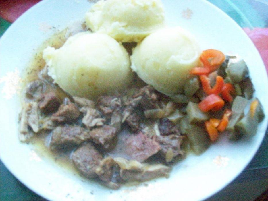 Gulasz wołowy - polski
