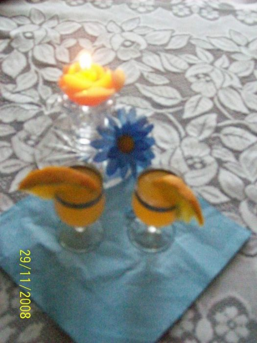 Nalewka z pomarańczy - pomarańczowa gorzka