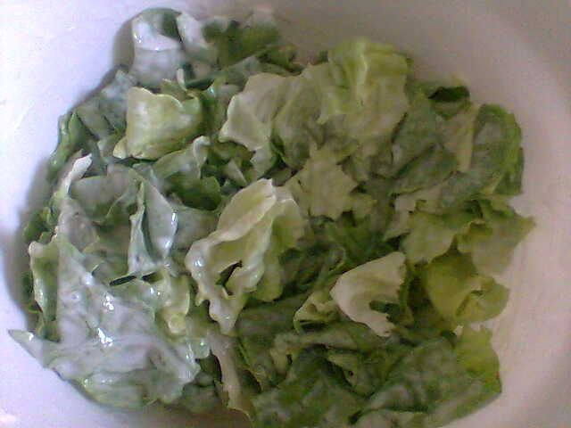 Salata ze smietana