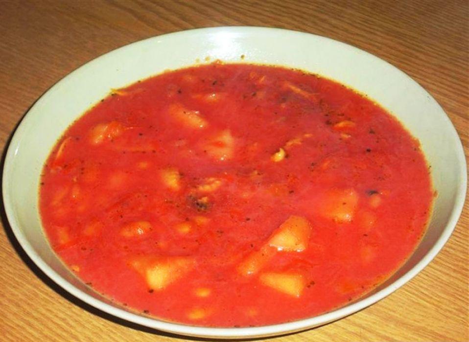 Zupa barszcz ukraiński mojej babci